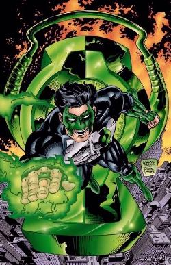 Kyle Rayner: The New Green Lantern.