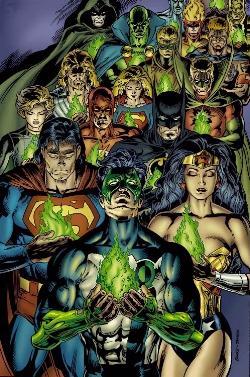 Memorial For Hal Jordan.