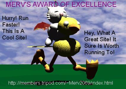 Merv's Award