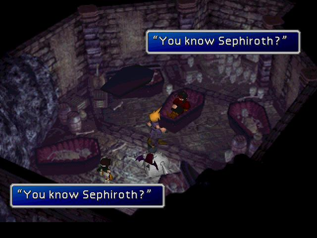 You Know Sephiroth?